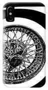 Wire Wheel IPhone Case