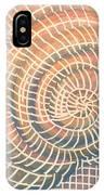 Wireframed Spiral IPhone Case
