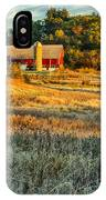 Wisconsin - Country Morning IPhone Case