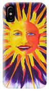 Wisdom Sun IPhone Case