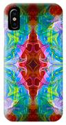 Wisdome And Mystery Abstract Pattern Artwork By Omaste Witkowski IPhone Case