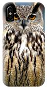 Wise Forest Mountain Owl Spain IPhone Case