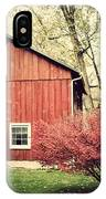 Wise Old Barn Summertime IPhone Case