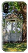 Wishing Well At Yorktown IPhone Case