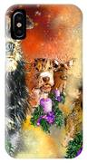 Wishing You A Blessed Advent IPhone Case