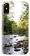Wissahickon Creek Near Bells Mill IPhone Case
