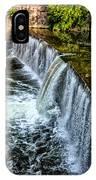 Wissahickon Dam At Ridge Avenue - Side View IPhone Case
