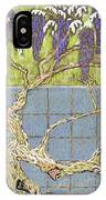 Wisteria IPhone X Case