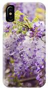 Wisteria Garden 2 IPhone Case