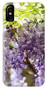 Wisteria Garden 9 IPhone Case