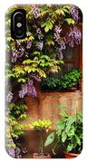 Wisteria On Home In Zellenberg France IPhone Case
