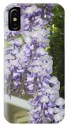 Wisteria Vine 2 IPhone Case
