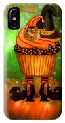Witch Cupcake 4  IPhone Case