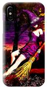 Witch In The Pumpkin Patch IPhone Case