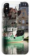 Wladyslawowo And Gdynia In Gdansk Harbor IPhone Case