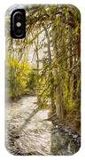 Wolf Creek Afternoon Light IPhone Case