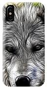 Wolf Line Art  IPhone Case