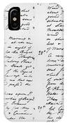 Wolfe Journal, 1759 IPhone Case
