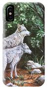 Wolves In South Dakota IPhone Case