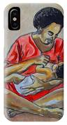 Woman And Child IPhone Case
