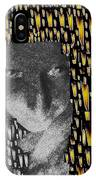 Woman In Flames IPhone Case