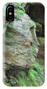 Woman In Rock IPhone Case