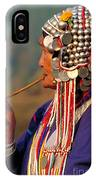 Akha Hill Tribe Woman  Thailand IPhone Case