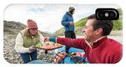Woman Serving Appetizers, Alsek River IPhone Case