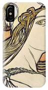 Woman With A Headscarf IPhone Case