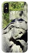 Woman With Cross Cave Hill Cemetery Louisville Kentucky Usa IPhone Case