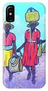Women On Beach At Grenada IPhone Case