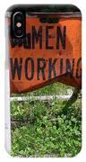 Women Working IPhone Case