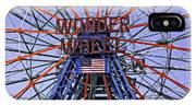 Wonder Wheel 2013 - Coney Island - Brooklyn - New York IPhone Case