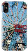 Wonder Wheel Of Coney Island IPhone Case