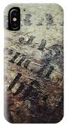Wood And Ink IPhone Case