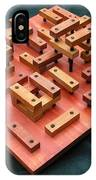Wood Construction #1 IPhone Case