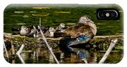 Wood Duck Rest Time IPhone Case