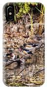 Wood Ducks IPhone Case