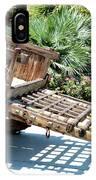 Wood Hand Cart II IPhone Case
