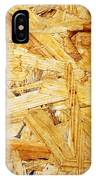 Wood Splinters Background IPhone Case