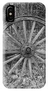Wood Spoke Wheel IPhone Case
