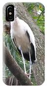 Wood Stork On A Limp IPhone Case