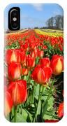 Woodburn Tulip Fields IPhone Case