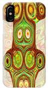 Woodcraft Ghosts Spirits Indian Native Aboriginal Masks Motif Symbol Emblem Ethnic Rituals Display H IPhone Case