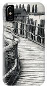 Wooden Boardwalk IPhone Case