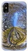 Wooden Bridge Orb IPhone Case