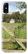 Wooden Gate Sussex Uk IPhone Case