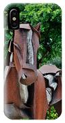 Wooden Horse16 IPhone Case