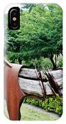 Wooden Horse22 IPhone Case