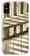 Wooden Lines - Semi Abstract IPhone Case